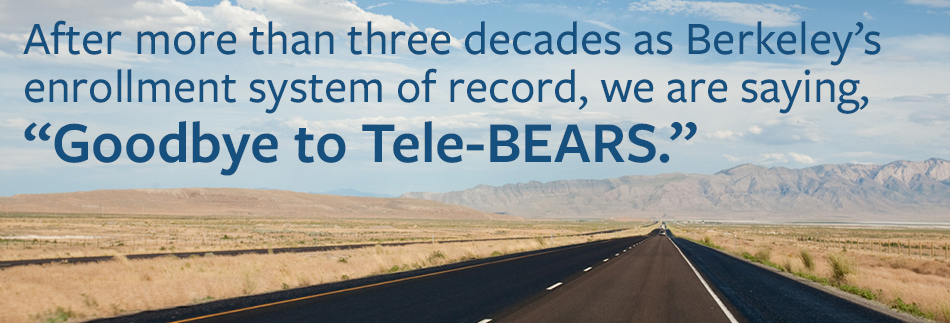 Goodbye Tele-Bears
